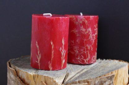 свещи с растения